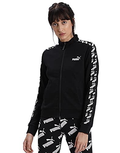 Puma Amplified Track Jacket TR Veste De Survêtement Femme Puma Black FR : XS (Taille Fabricant : XS)