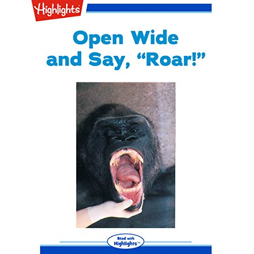Open Wide and Say Roar cover art