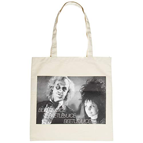 Beetlejuice Image Capture Canvas Tote Bag Standard