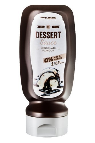 Body Attack Chocolate Sauce 320ml