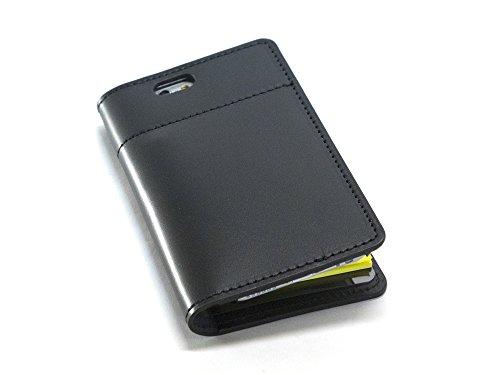 1冊の「ふせんノート」で人生は、はかどる坂下仁特製ふせん台紙付き本革レザーiPhone7カバー・本革ブラック