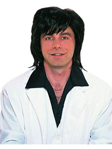 Rubies Officielle 70 's Cormoran Perruque Noir Taille Unique Adulte