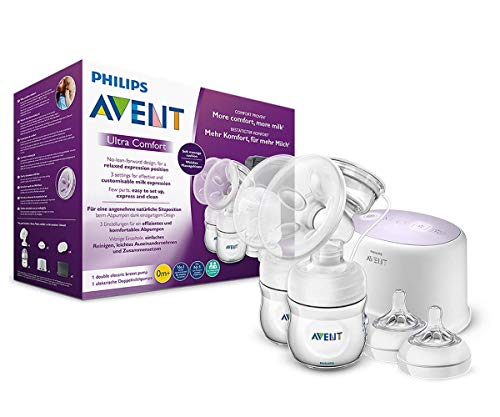 Philips Avent SCF334/31 Tire-lait électrique Double Natural