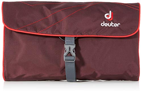 Deuter - Wash Bag II - Waschbeutel / Kulturbeutel - Aubergine Fire