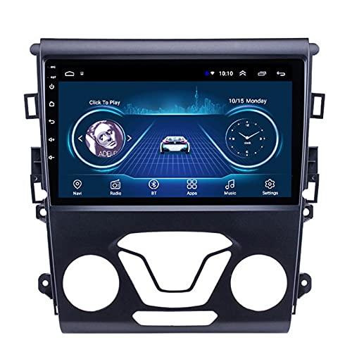 Android 10.0 8 Core Car stereo radio de navegación por satélite FM AM Autoradio 2.5D Pantalla táctil para Ford MONDEO 2013-2017 Navegador GPS Bluetooth WIFI GPS USB SD player(Color:4G+WIFI 2G+32G)