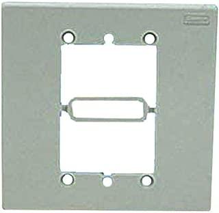Panduit MIWBAWH 2-Gang In-Wall Box Adapter, White