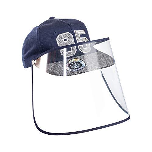 Chiefstore Visiera Maschera Visiera Maschera Protezione di Sicurezza Visiera Completa Cappellino Protettivo Unisex Anti-Saliva Baseball Cappello da Sole Accessori Costume (Kid)