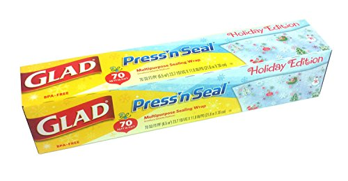 For Sale! Glad Pressn Seal Wrap, 70 Square Feet (2014 Holiday Edition)
