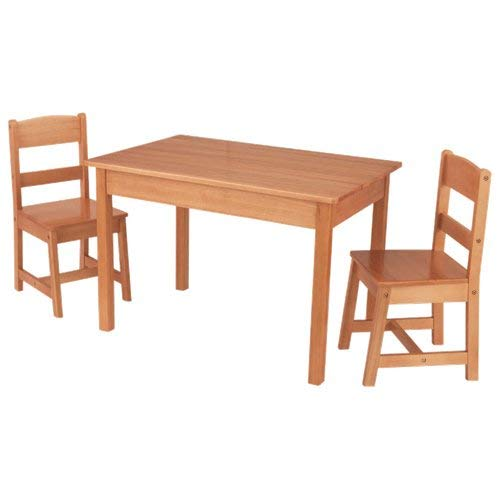 Rectangle Table & 2 Chair Set - Natural