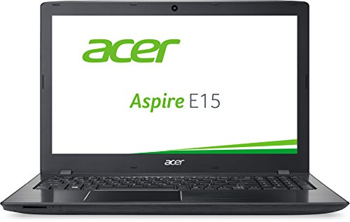 Acer Aspire E 15 (E5-575G-56GY) 39,6cm (15,6 Zoll Full HD) Laptop (Intel Core i5-6200U, 8GB RAM, 1000GB HDD, 96GB SSD, Nvidia GeForce GTX 950M, DVD, Win 10 Home) schwarz
