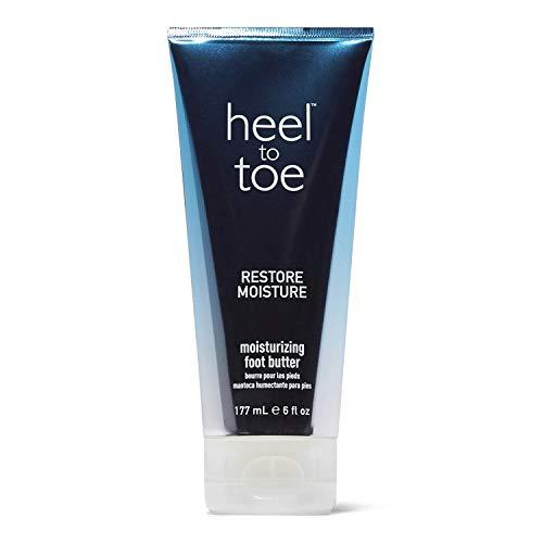 Beurre hydratant pour les pieds du talon aux orteils.