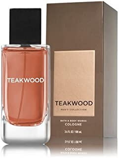 Bath and Body Works Teakwood Men's Collection 3.4 Ounce Cologne Spray New In Box