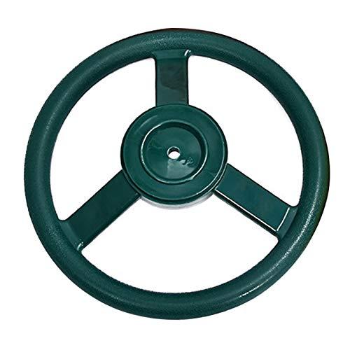 Giocattolo per ruota delle navi dei pirati, accessorio divertente per il volante, per bambini, parco giochi per bambini, per divertimenti, facile da installare (verde)
