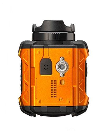 RICOH防水アクションカメラWG-M1オレンジWG-M1OR08286