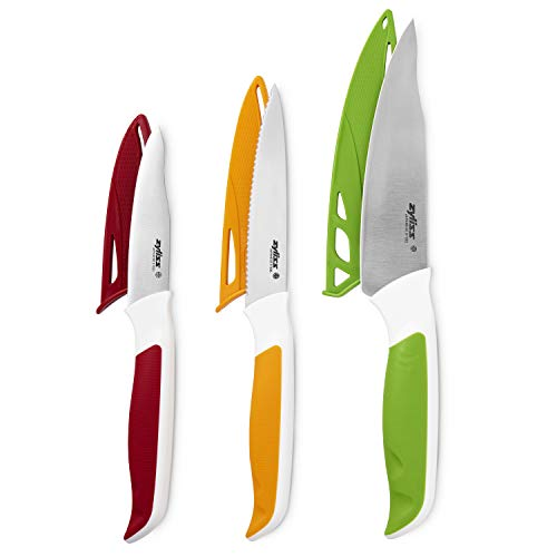 Zyliss E920240 Küchenmesser Comfort, japanische Edelstahlklinge, ergonomischer Griff