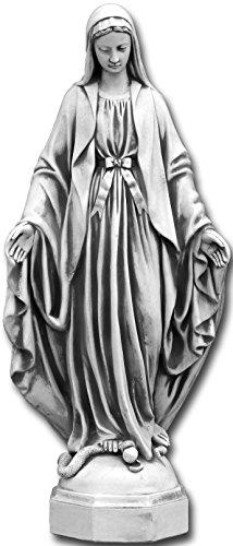 gartendekoparadies.de Wunderschöne Statue Madonna heilige Maria aus Steinguss, frostfest