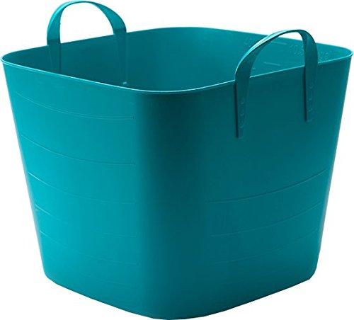 SP Berner Life Story-Barreño Grande | Cubo de Plastico con Asas-40 litros-Azul, 40 L