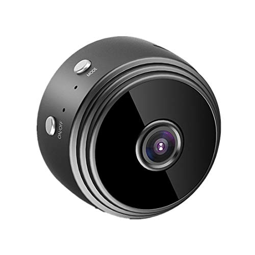 Camara Espia, Mini Camaras Espias 1080P Camara Vigilancia Encubierta de Seguridad WiFi Camara Espia Oculta con Detector de Movimiento IR Visión Nocturna, Camaras de Pequeña Interior/Exterior