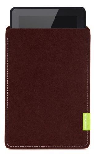 WildTech Sleeve für Kindle Fire HD 8.9-14 Farben wählbar (Dunkelbraun)