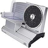 Jata CF1055 Cortafiambres Metálico con Disco Desmontable de 220 mm Corte de 1 a 22 mm Desmontable Base Antideslizante
