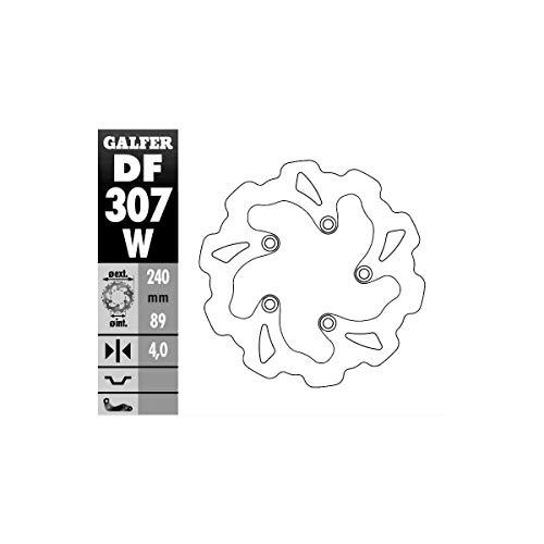 Bremsscheibe Galfer Wave starr DF307W 240 x 4mm hinten