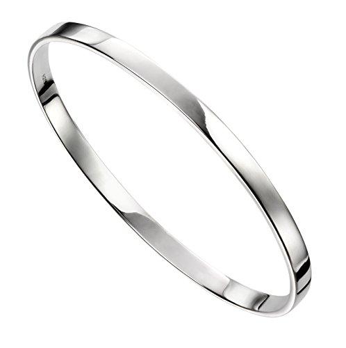 Elements Silver Damen Armreifen Silber - AZ-B5067