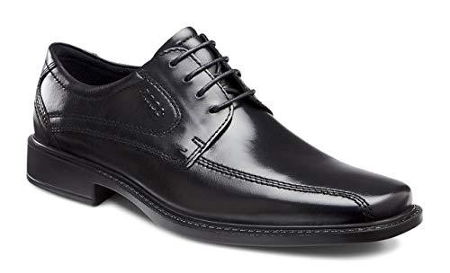 ECCO Men's New Jersey Tie Oxford,Black,43 EU (US Men's 9-9.5 M)