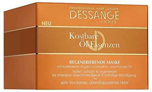 Dessange Haarpflege Kostbare Öl-Essenzen Maske, für sehr trockenes, überstrapaziertes Haar, 250 ml