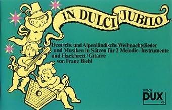 In Dulci Jubilo–Arreglados para Volkswagen Estimada Besetzung [de la fragancia/Alemán] Compositor: Biebl Franz