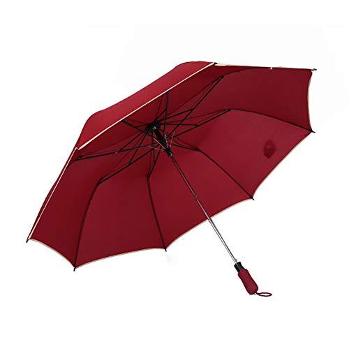 Paraplu, Automatische Open Golf Paraplu - Zeer Sterke 56 Inch Luifel Winddicht Waterdicht Grote Stick Paraplu's Beschermt tegen regen, Wind, zon