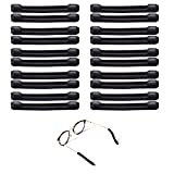 10 Pairs Soft Silicone Thread-on Eyeglasses Temple Tips Sleeve Retainer, Add Grips