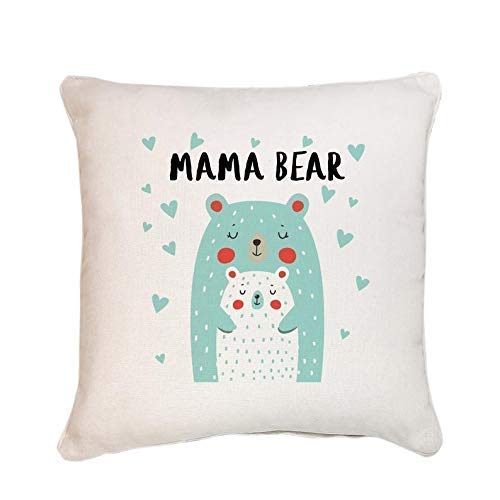 Cute mama bear cushion/Mother's Day Gift/Mum and baby bear/Mother gift/Mummy birthday/First Mothers day gift/Christmas…