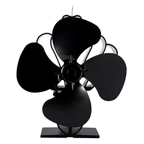 Pictury Kamin Fan Blower europäische und amerikanische Kamin Fan Umweltfreundliche Energiespar Thermal Power Fan cool