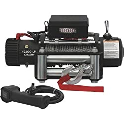 Ironton 12 Volt 12,000 lb Capacity DC Powered Winch Review