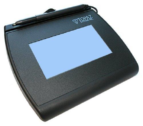 Bluestar T-LBK755SE-BHSB-R TOPAZ, SIGNATURE GEM,TRANSACTION TERMINAL, 4X3,BACKLIT HID-USB SE, DUAL SERIES/H