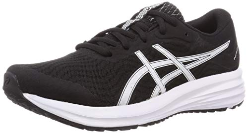 Asics Patriot 12, Sneaker Mens, Black/White, 42.5 EU