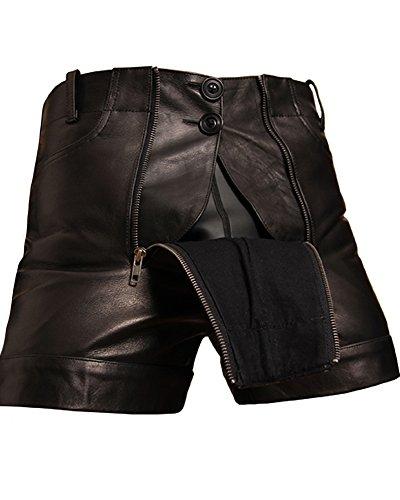 Bockle Kurze Zimmermann Lederhose Leder Short Pants, Size: W32/L30