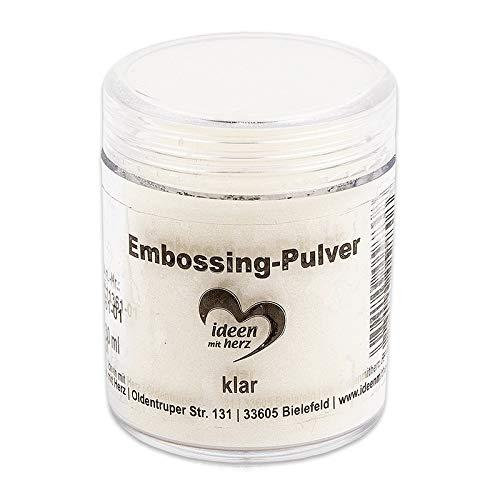 Embossing-Pulver | Puder für Embossing | 30 ml | klar