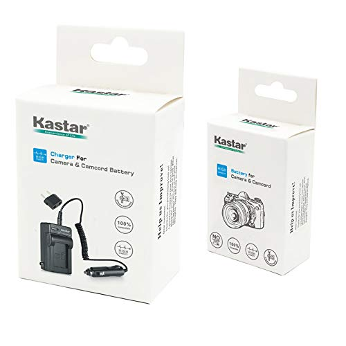 Kastar 1 Pack Battery and Charger for Panasonic CGA-DU06 CGA-DU07 CGA-DU12 CGA-DU14 CGA-DU21 Batteries