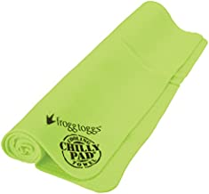 Frogg Toggs Chilly Pad Cooling Towel, HiVis Lime Green, Size 33