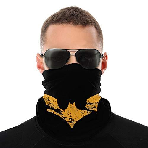 Bandanas con logo de Batman para adultos, hombres y mujeres, diadema, bandanas negras para la cabeza anti-sol, ciclismo, correr, motocicleta