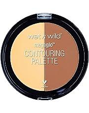 Wet N Wild Megaglo™ paleta konturów do konturowania i konturowania, Caramel Toffee, 1 opakowanie, 6 g