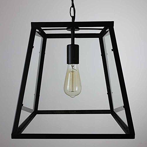 candelabro YYF Americana - Cuadro de Estilo Retro Cristal de la lámpara del café de la Barra del Restaurante Estudio de la lámpara