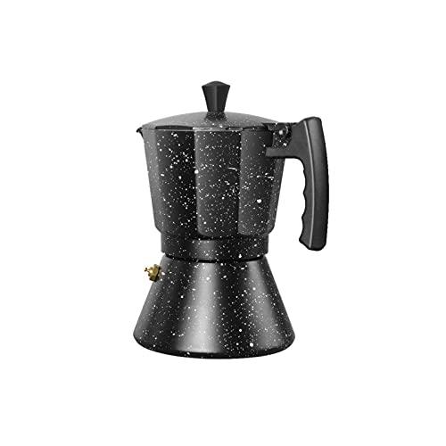 Moka OOXPRAN PROVEEDER TALIAN Stove Top Espresso Geyser Fabricante De Café Percolador Herramienta Pot (Color : 300ml)