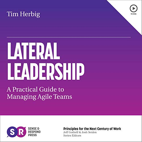Lateral Leadership audiobook cover art