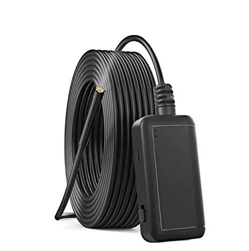 WLAN-Schlangenkamera mit 6 LED-Lichtkabel-Endoskop WLAN-Inspektionskamera HD-Endoskop (5,5 mm / 5 m wasserdichte Kamera) Kompatibel mit Android und IOS