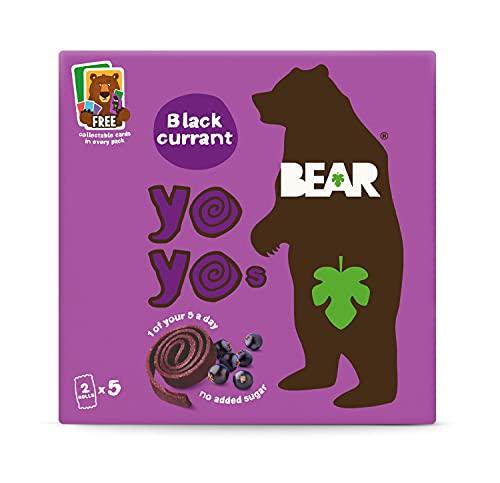 Bear Fruit Yoyos Blackcurrant Multipack 5 x 20g