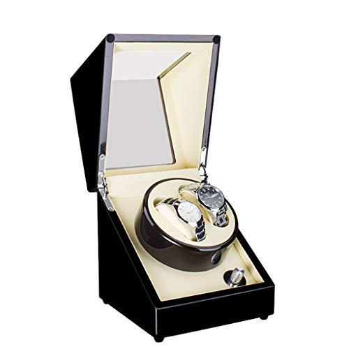 N/B Mira enrollador Mira Cajas de enrollador Caja de Reloj giratoria eléctrica...