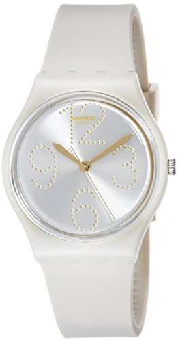 Swatch Reloj Digital para Mujer de Cuarzo con Correa en Silicona GT107
