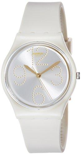 Swatch Orologio Digitale Quarzo da Donna con Cinturino in Silicone GT107